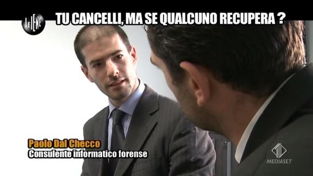 Paolo Dal Checco a Le Iene