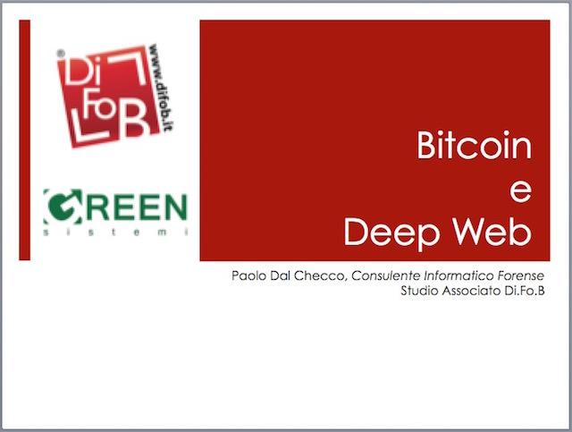 Corso sul Bitcoin