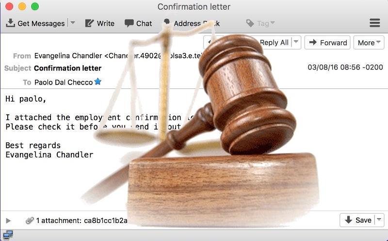 Perizia Informatica su Email e Posta Elettronica