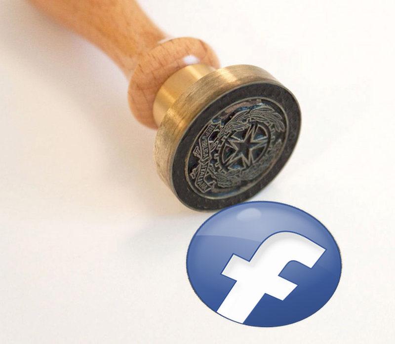 Copia conforme di una pagina o di un profilo Facebook
