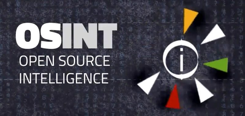 Corso OSINT - Open Source Intelligence