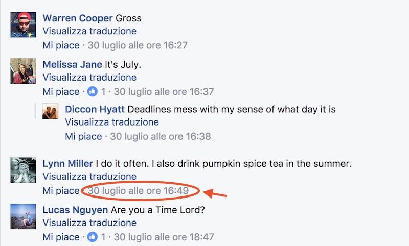 Identificare il commento Facebook come prova della diffamazione subita