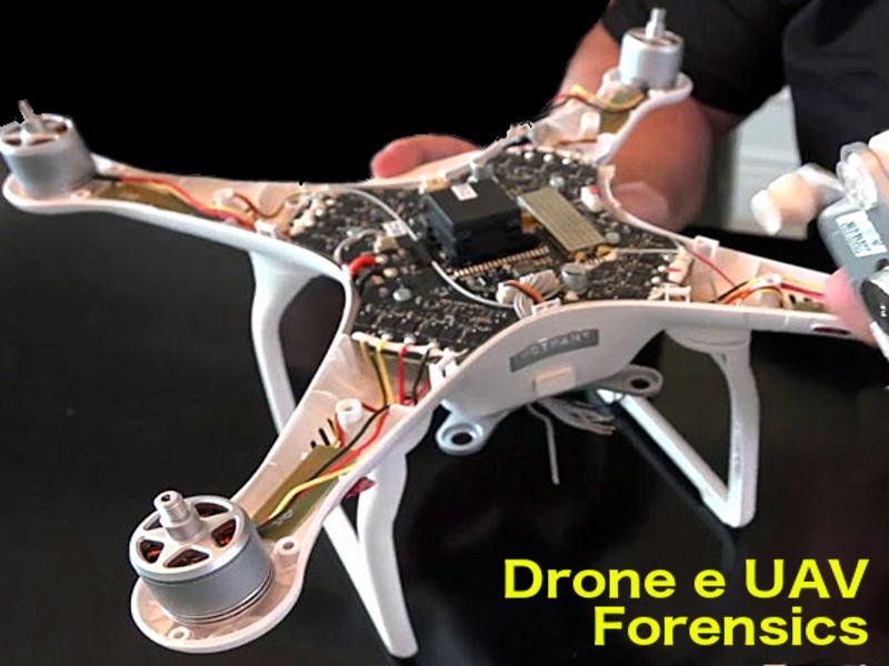 Perizia su Drone - Drone Forensics