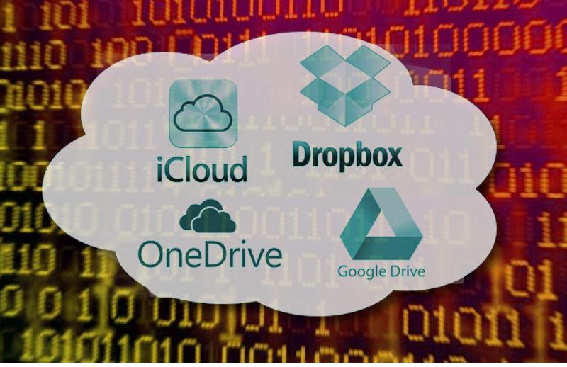 Perizia su Cloud come Dropbox, Google Drive, iCloud o Microsoft OneDrive