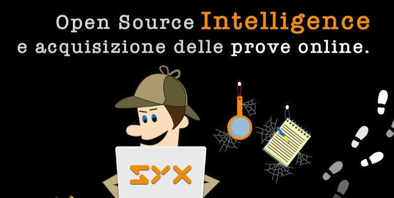 Workshop su OSINT e acquisizione delle prove online