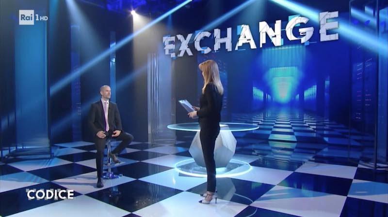 A Raiuno su Codice si parla di Exchange e furti di bitcoin