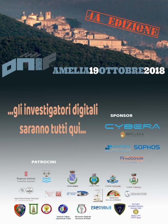 Conferenza ONIF ad Amelia - 2018