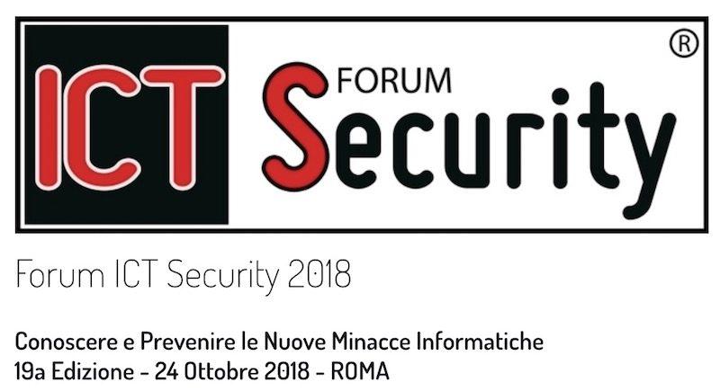 Forum ICT Security a Roma