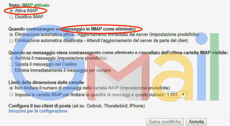 IMAP come mezzo per Man in The Mail e BEC Scam, business email compromise
