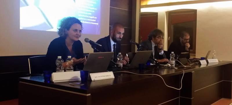 Convegno a Rovereto - Paolo Dal Checco, Valentina Carollo, Maurizio Reale e Giuseppe Ceccarelli