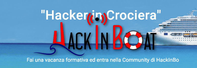 HackInBoat - Hacker in Crociera