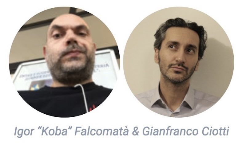 Igor Koba Falcomatà e Gianfranco Ciotti - Offensive Security