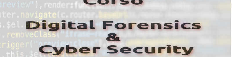 Corso Digital Forensics e Cyber Security - Ordine degli Ingegneri di Venezia