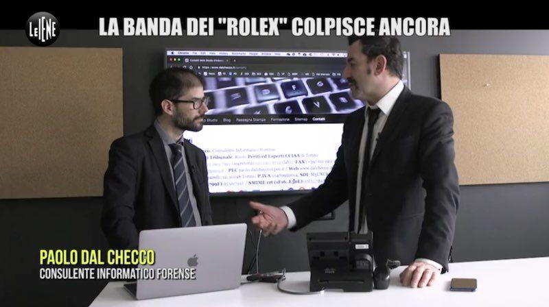 Paolo Dal Checco a Le Iene per la truffa dei Rolex