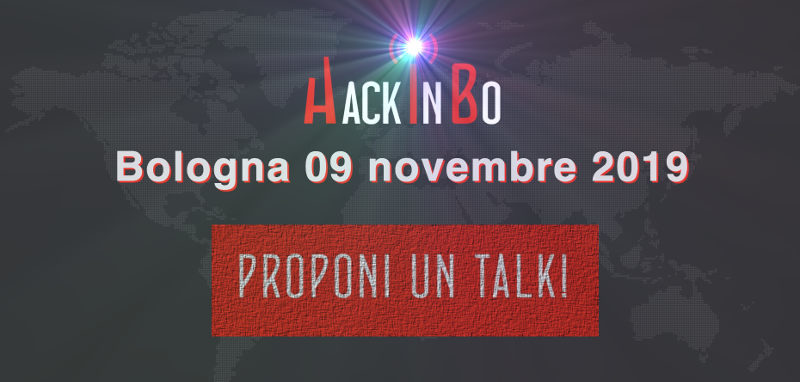 HackInBo 2019 a Bologna - Call for Papers