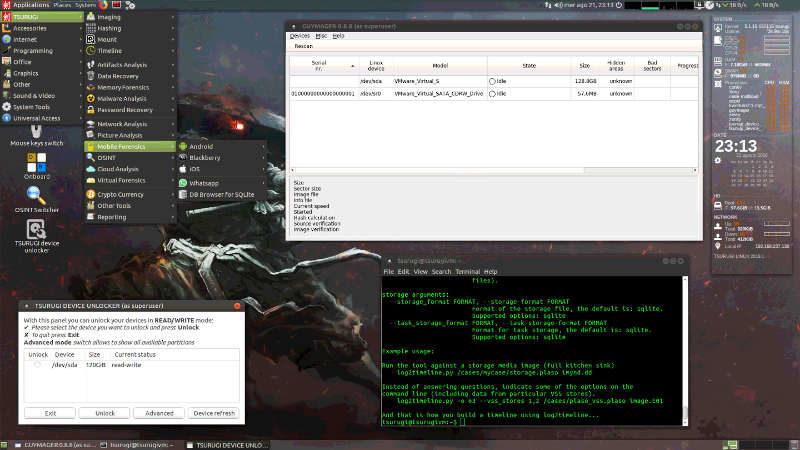 Tsurugi Linux Desktop