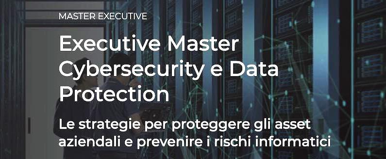 24 Ore Business School - Executive Master Cy bersecurity e Data Protection