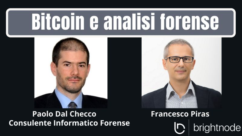 Bitcoin e Analisi Forense