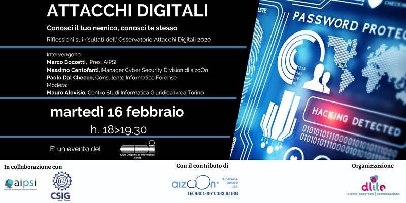 Attacchi Digitali - CSIG Ivrea Torino