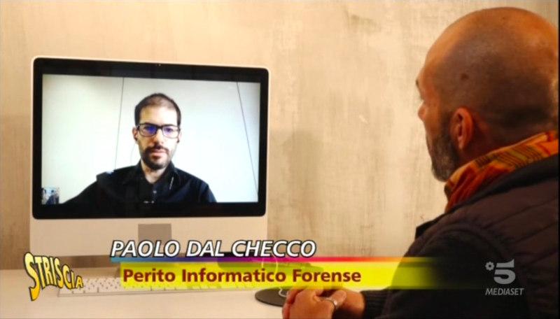 Paolo Dal Checco a Striscia La Notizia