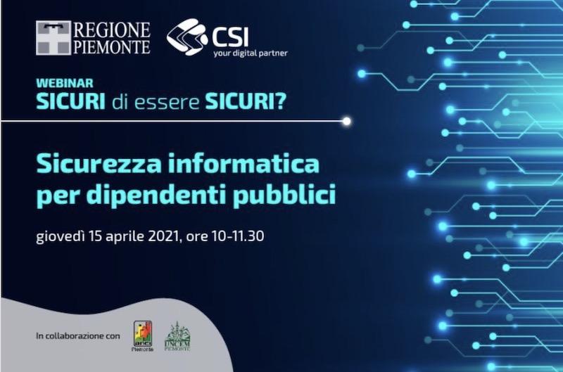 Sicurezza Informatica per le PA - CSI Torino