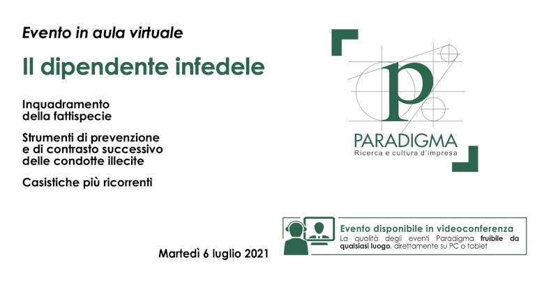 Paradigma - Il Dipendente Infedele